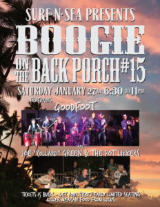 BOOGIE on the BACK PORCH at SURF n SEA HALEIWA @ Surf n Sea Back Porch  | Haleiwa | Hawaii | United States